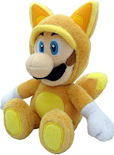 venta directa de fábrica Sanei Super Mario Plush Doll  9  Kitsune Fox Fox Fox Luigi (S) by Sanei  compras en linea
