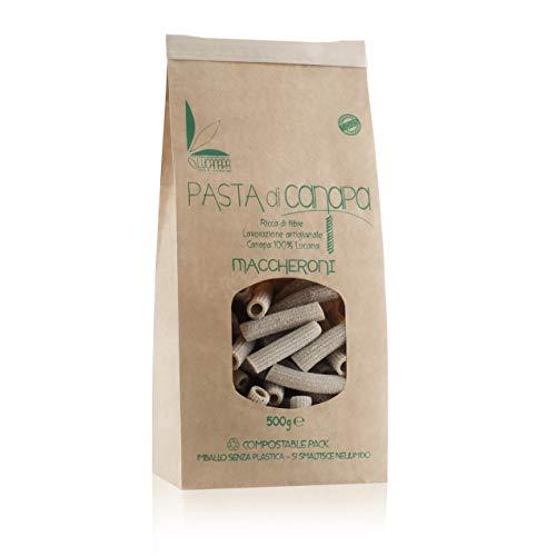 Pasta di CANAPA - formato MACCHERONI - conf 500 gr