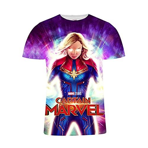 Camiseta de diseño de Super Héroes para hombre, impresión 3D, para adultos, adolescentes y niños, 1, small