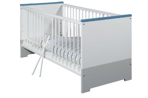 Schardt Kombi-Kinderbett Candy Blue, 70 x 140 cm