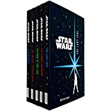 Star Wars Junior Novel Collection 5 Books Set by Ryder Windham (A New Hope, Empire Strikes Back, Return of The Jedi, Force Awakens, The Last Jedi)