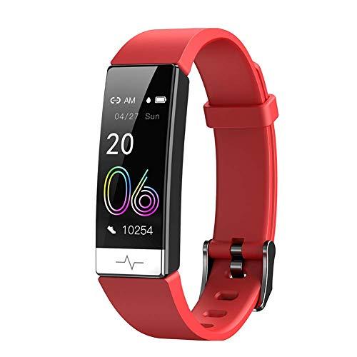 Sport Fitness s, Montre Intelligente, Bracelet à contrôle Tactile Fitness Sport I podomètre étanche Moniteur d'oxygène de Pression artérielle Rechargeable