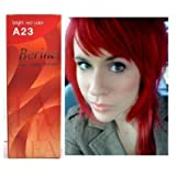 Best Bright Red Hair Dyes - Bright Red Hair Dye Color Cream Permanent Goth Review