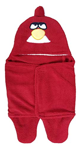 BRANDONN Newborn Baby Blanket Cum Envelope Jumpin Baby Wrapper Sleeping Bag Cum Car Carry Bag with Hood Cap Polka Printed Ultra Soft Blanket for Babies(Envelope Red Rabbit)