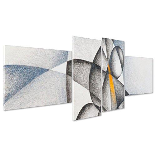 Cuadro sobre lienzo Canvas-ConKrea-Listo para colgar-Picasso-cubismo Dibujo Virgen con Niño