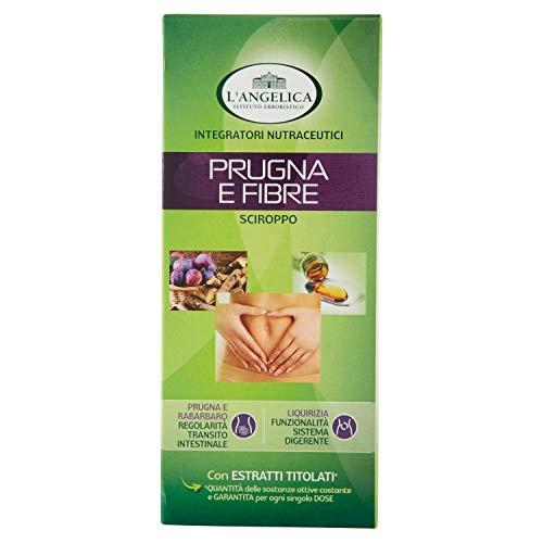 L'Angelica Sciroppo Prugna e Fibre, 1 Flacone da 250 ml