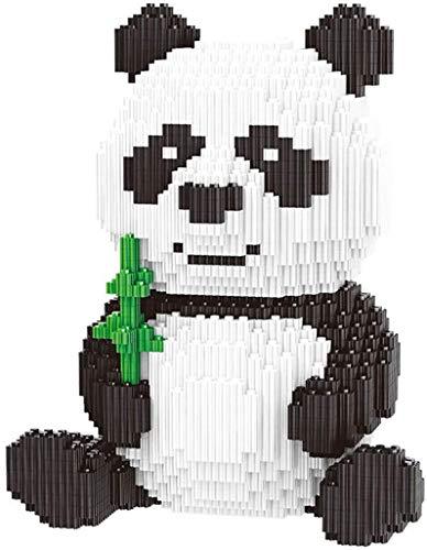 HYLL Panda Bloques de construcción de Juguetes educativos para los Regalos de los niños Bloques Micro Animal Diamante de los niños