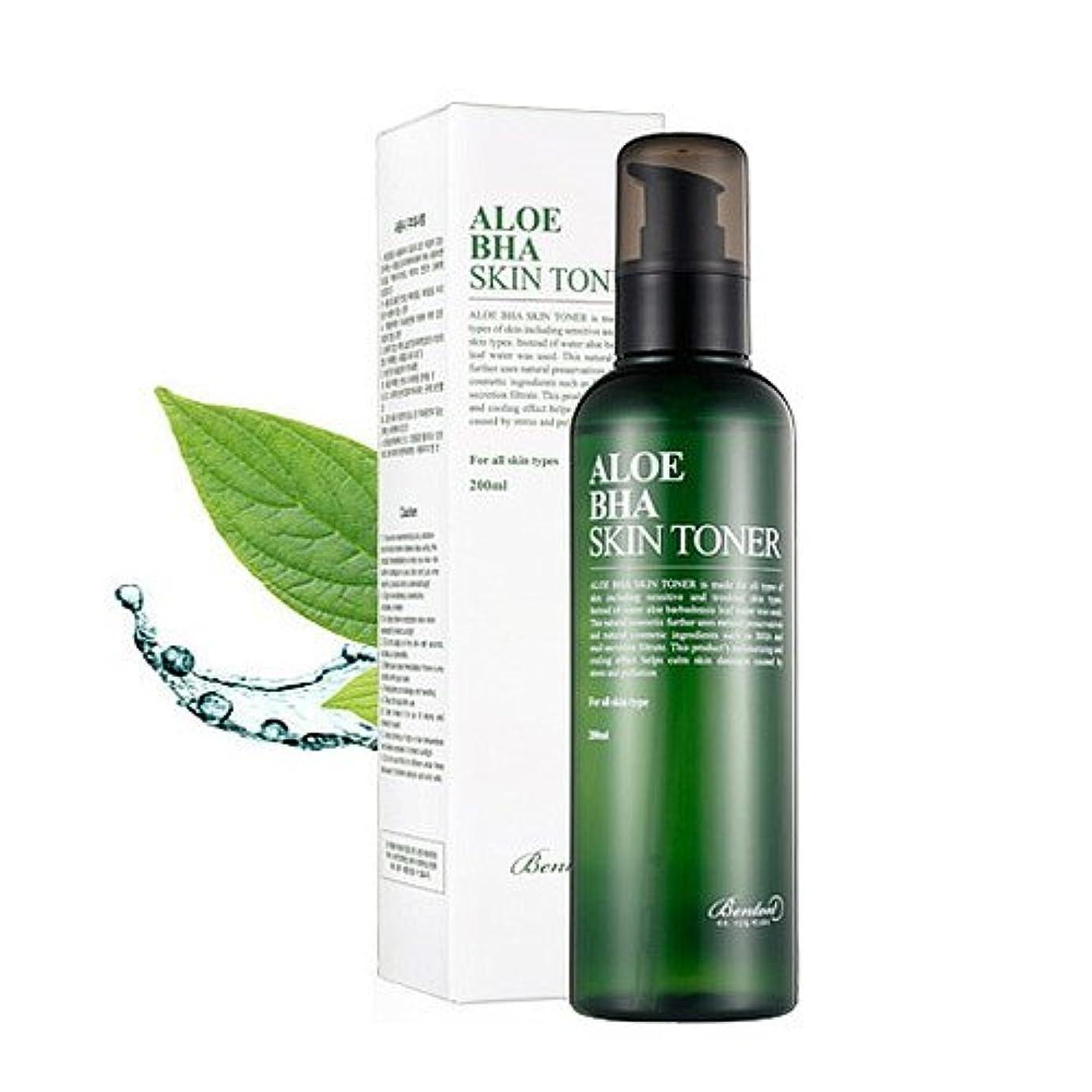 植物の打たれたトラック厚い(6 Pack) BENTON Aloe BHA Skin Toner (並行輸入品)
