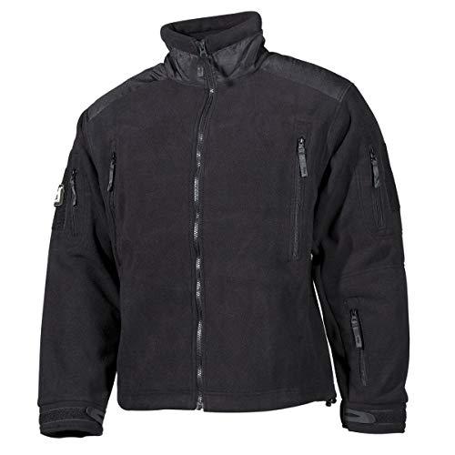 """MFH veste polaire, """"Heavy-Strike"""", noir - noir, Large"""