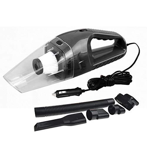 N / E Aspiradora Portátil 120W 12V Coche Aspiradora de Mano Mini Aspiradora Super Succión 5m Cable húmedo y seco de doble uso accesorios para el hogar