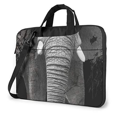 Ele-phant Laptop Bag 14 Inch Shoulder Messenger Bag Computer Tote Briefcase for Work School