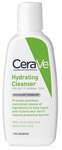 CeraVe Hydrating Face Wash | 8 Fluid Ounce | Daily Facial Cleanser for Dry Skin | Fragrance Free