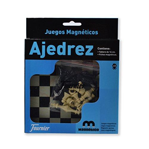 Fournier Ajedrez (130012240) Juego de Mesa magnético de Viaje (F28982)