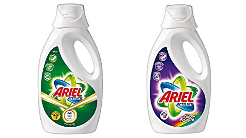 Ariel Actilift Liquid Laundry Detergent Variety Pack (Pack of 2)