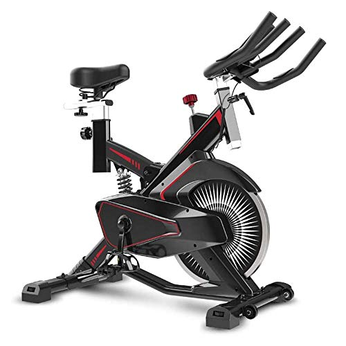 New BZLLW Exercise Bike,Indoor Cycling Bike Stationary,Comfortable Seat Cushion,Multi - Grips Handle...