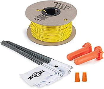PetSafe - Kit Rallonge Clôture Anti-Fugue pour Chien, Bobine de 150 m de fil jaune de calibre 20 + 50 fanions, Solution anti-fugue pour tous types de Terrain, murs et poteaux