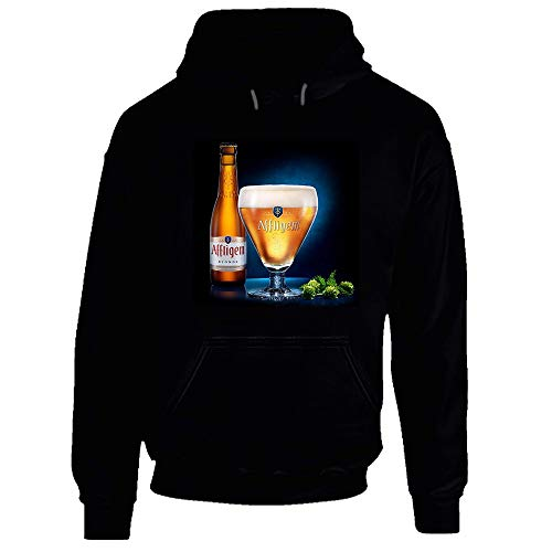 Affligem Beer Hoodie Gr. Medium, Schwarz