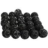 Pssopp Filtro de Tanque de Peces de Acuario Bio Balls Medios de filtración de Bolas bioquímicas Reutilizables para peceras de Acuario