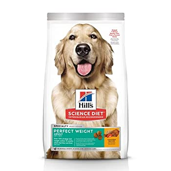 Hill s Science Diet Dry Dog Food Adult Perfect Weight for Healthy Weight & Weight Management Chicken Recipe 28.5 lb Bag