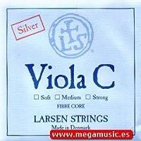 CUERDA VIOLA - Larsen (Sintetico/Plata) 4ェ Fuerte Viola 4/4