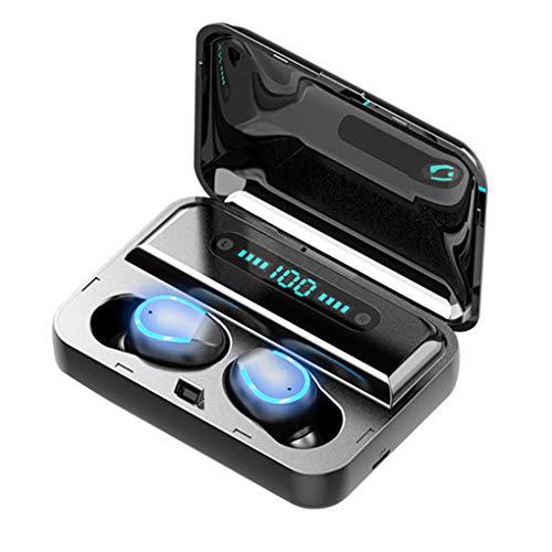 TWS Bluetooth 5.0 écouteurs Touch Control téléphone Intra-auriculaire Oreillette Handfree Réduction du Bruit Casque Brethable Lumière