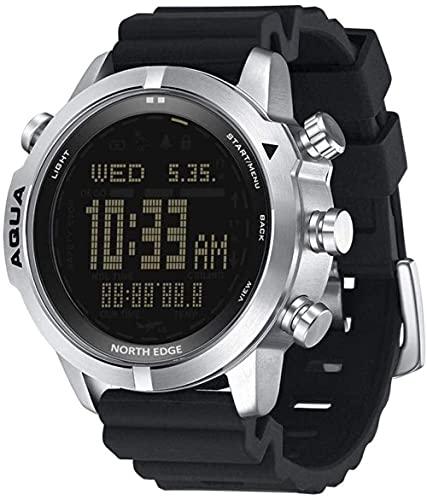 XYJ Hombre S Buceo Reloj Digital SmartWatch Reloj de Pulsera Rastreador de Fitness Scuba Diving NDL (No Deco Time) 50m Relojes de Buceo Altímetro Compass Android iOS