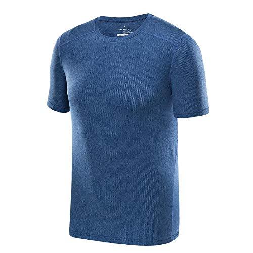 Camiseta de Secado rápido para Hombres y Mujeres Camiseta de Manga Corta XL de Pareja Suelta y Ropa Deportiva Transpirable de Secado rápido para el Verano