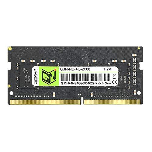 PUSOKEI Tarjeta de Memoria 4G para computadora PC, módulo de Memoria DDR4 2666MHz, computadora portátil Nnotebook Kit de Memoria de Escritorio para Jugadores, con Rendimiento Estable, 1.2V