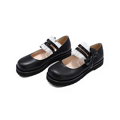 Top 10 best selling list for round toe platform flat shoes with bow