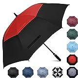 Prospo Golf Umbrella 62 inch Large Auto-Open Windproof Oversized Stick Vented Umbrellas