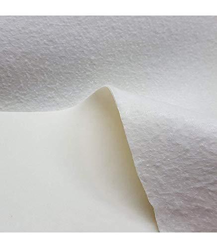 Kadusi Muletón de 140 cm de Ancho. Tela Impermeable con PVC para Protección de Mesas