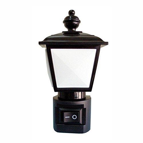 """Luz Noturna""""Lampião"""" para Crianças Idosos e Corredores 110V, Key West - DNI 6189, Branco, Pequeno"""