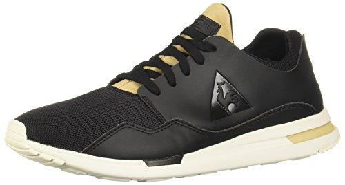 Le Coq Sportif Scarpe LCS R Pure Lea Tech Mesh 1810119 Uomo Moda Sneakers Black