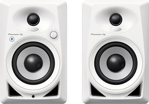 Pioneer DJ-Bluetooth-Desktop-Monitore Einzeln weiß