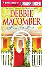 Hannah's List (Blossom Street)- By Debbie Macomber(A)/Fred Stella(N)