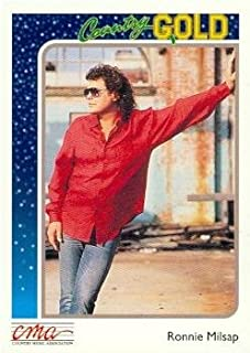 Ronnie Milsap trading card (Country Music) 1992 Sterling Country Gold #89