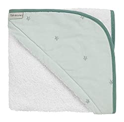 From new-born to toddler, snuggle your little one up after bath time with the super soft forty winks towel Made using wonderfully soft 100% cotton fabric, featuring delicately embroidered lullaby stars fabric on the hood Easy care - machine washable ...