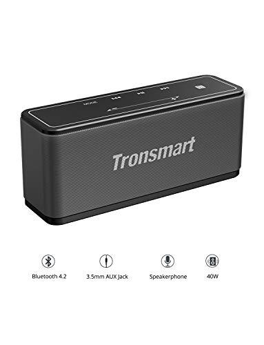 Tronsmart 40W Altoparlante Bluetooth 5.0 Cassa, Speaker Wireless,TWS & NFC, Pulsanti Touch, Subwoofer Speakers, Sound Digital 3D Riproduzione di 15 ore, per Telephone, Computer, Laptop