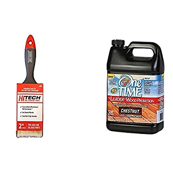 New One TIME Chestnut Wood Stain & Sealer 1 Gallon Size