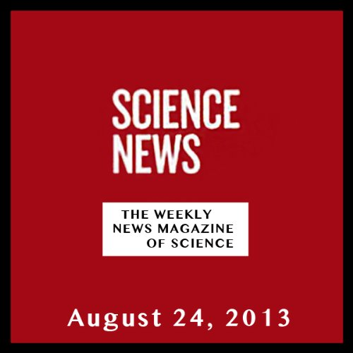 Science News, August 24, 2013 cover art