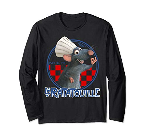Disney Pixar Ratatouille Remy Chef Hat Portrait Long Sleeve