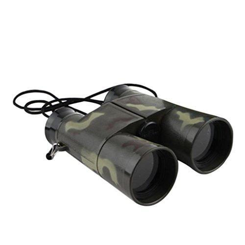 zhouba Kinder-Fernglas im Tarnfarben-Design, für Vogelbeobachtung im Freien, zum Erlernen der Sternbeobachtung, camouflage, Einheitsgröße