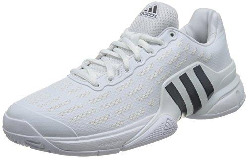 adidas adidas Herren Barricade 2016 Tennisschuhe, Blanco (Blanco (Ftwbla/Maruni/Kusifo), 42 EU