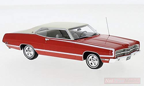 NEO Scale Models NEO44721 Ford XL Coupe 1969 RED 1:43 MODELLINO DIE CAST Model