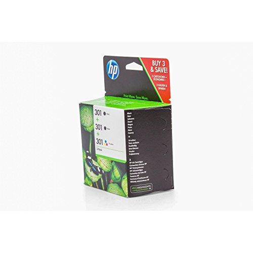 Tinten Spar-Set Original HP DeskJet Ink Advantage 2545 / E5Y87EE Tinten Spar-Set Cmyk für ca. 2 x 190 & 1 x 160 Seiten, 3 Stück, passend für HP DeskJet 1000, HP DeskJet 1010, HP DeskJet 1050, HP DeskJet 1050 a, HP DeskJet 1055, HP DeskJet 1510, HP DeskJet 2050, HP DeskJet 2050 a, HP DeskJet 2050 s, HP DeskJet 2054 a, HP DeskJet 2510, HP DeskJet 2512, HP DeskJet 2514, HP DeskJet 2540, HP DeskJet 2542, HP DeskJet 2544, HP DeskJet 2549, HP DeskJet 2550, HP DeskJet 3000, HP DeskJet 3050, HP Desk...
