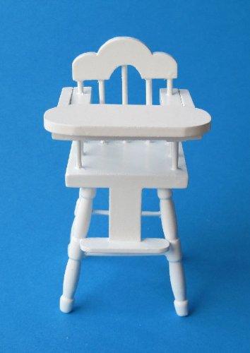 Puppen Baby Hochstuhl Puppenhausmöbel Kinderzimmer Miniatur 1:12