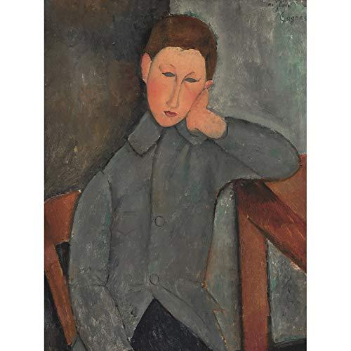 Modigliani Amedeo The Boy Unframed Wall Art Print Poster Home Decor Premium