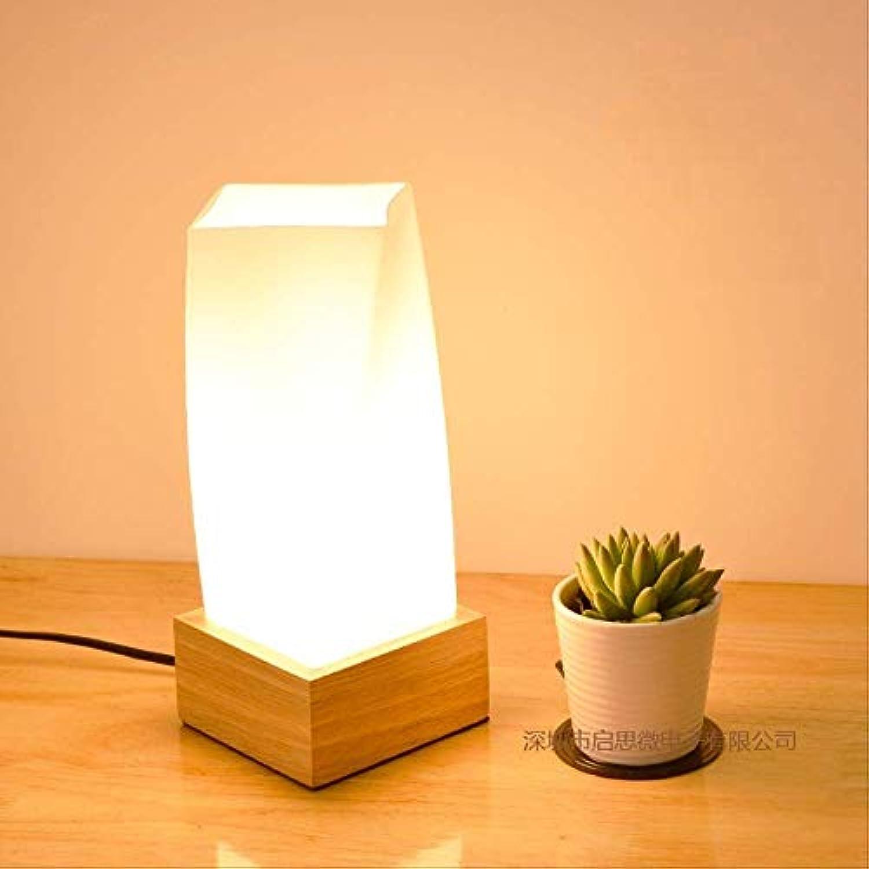 New Style Vintage Loft Wooden Table Lamp Wood Light E27 Ac 110v 220v For Living Room Bedroom Study Room Bedside Home Decor
