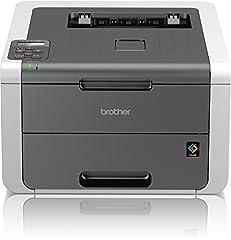 Brother HL-3142CW Imprimante couleur compacte (impression, A4, 18 pages/min., 2400×600 dpi, WLAN, impression airBag pour 150 000 pages)