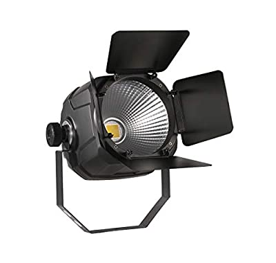 DragonX Professional Ellipsodidal 100W Hybrid LED COB Light 50W/50W Cool/Warm White Portable DJ Pin-Spot Lighting Fixture/DMX for Theatre Uplight Effect Concert,Party Church and Stage Spotlight